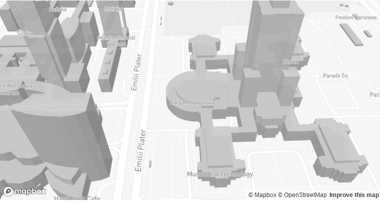 3D projection of buildings in OSM using the Mapbox plugin
