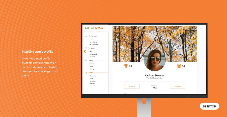 lifetraq wersja desktopowa